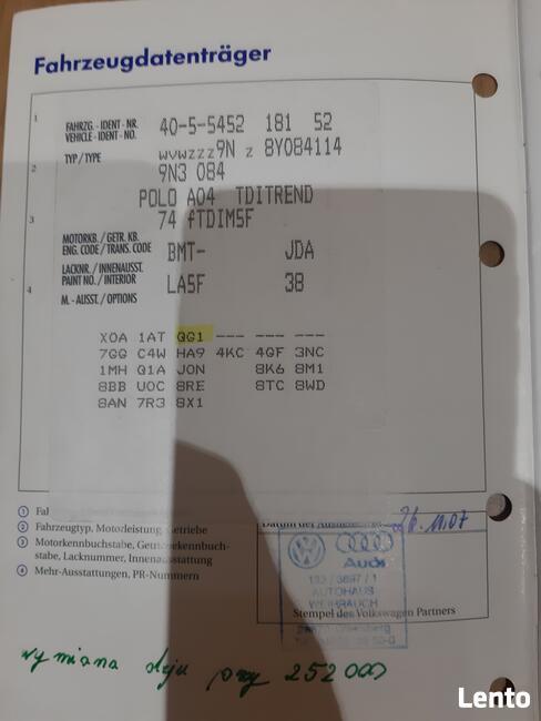 Sprzedam Polo lV z 2007 roku Legnica - zdjęcie 1
