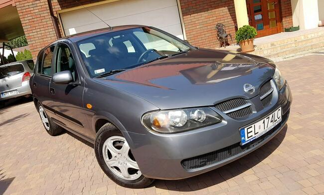 Nissan Almera SALON PL,  zadbany. !! Aleksandrów Łódzki - zdjęcie 5