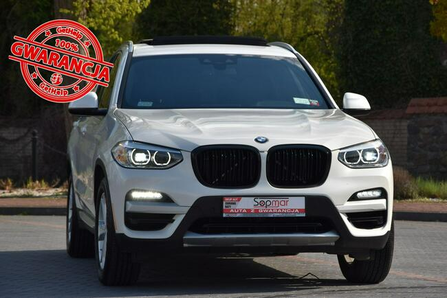 BMW X3 SDrive30i 252KM 2018r. X-line Kamera 3xklima NAVi Panorama Kampinos - zdjęcie 1