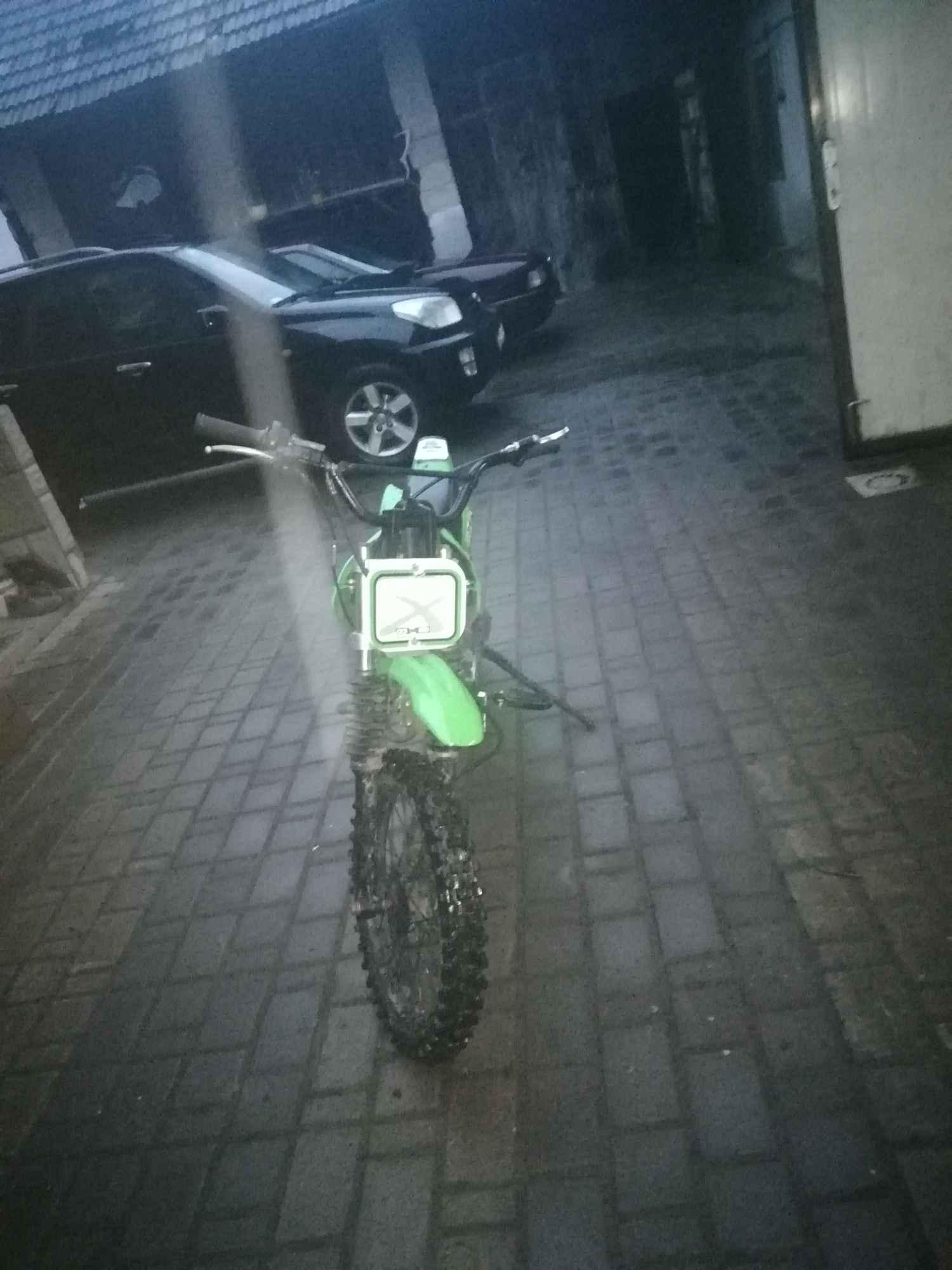 Cross pitbike110cm3 powiększona, wzmocniona rama nowe części Rzeszów - zdjęcie 4