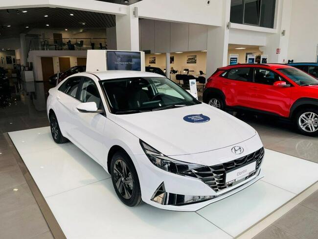 Hyundai Elantra Nowa 1.6 MPI 6MT SMART Łódź - zdjęcie 4