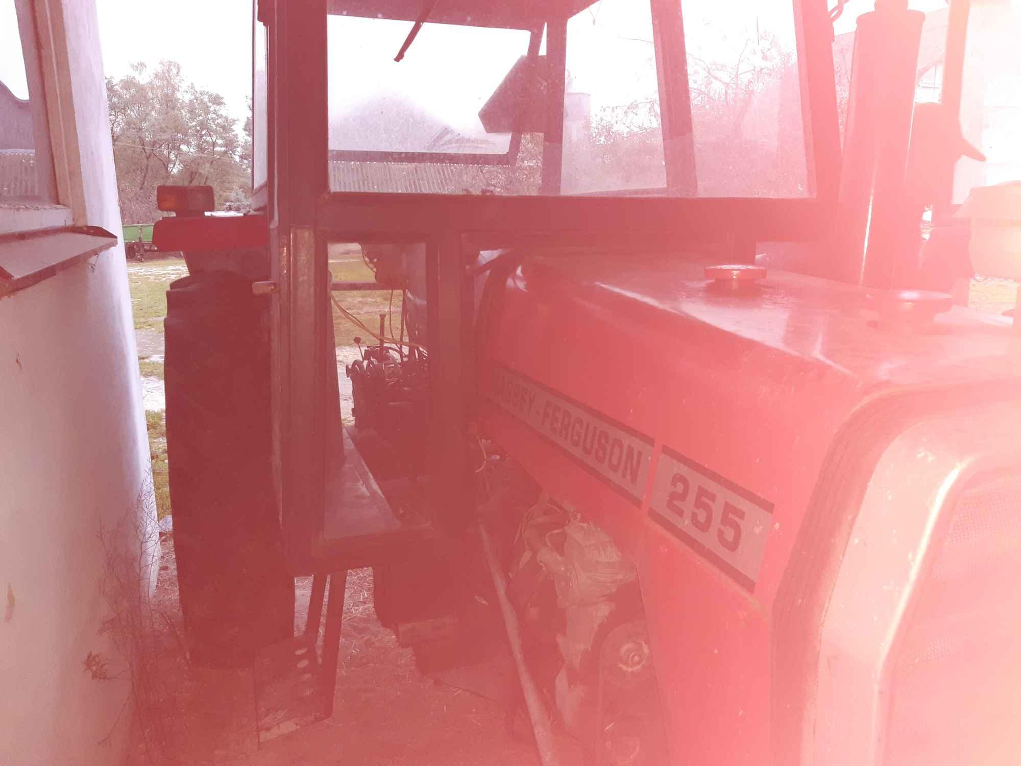 Sprzedam ciągnik MF 255 Kolonia Bobrowska Wola - zdjęcie 8