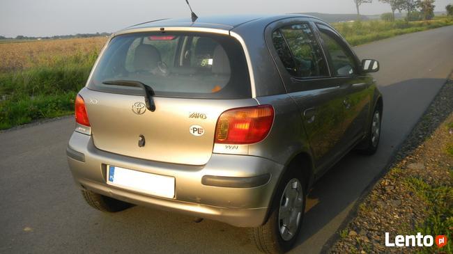 Toyota YARIS 1,3 Benzyna + LPG, 2004r Sanok - zdjęcie 7