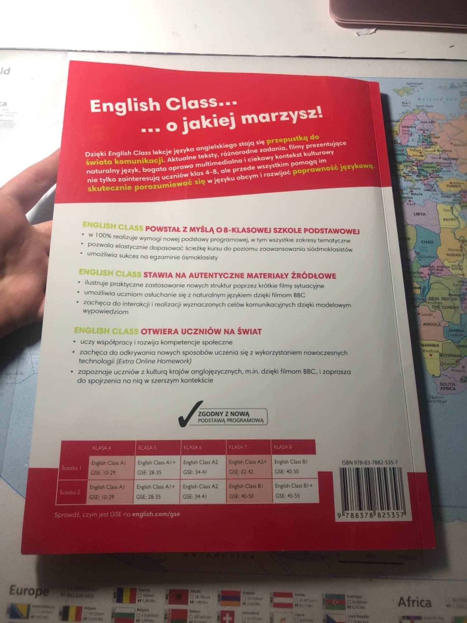 Książka nauczyciela z angielskiego English Class A1 Słubice - zdjęcie 4
