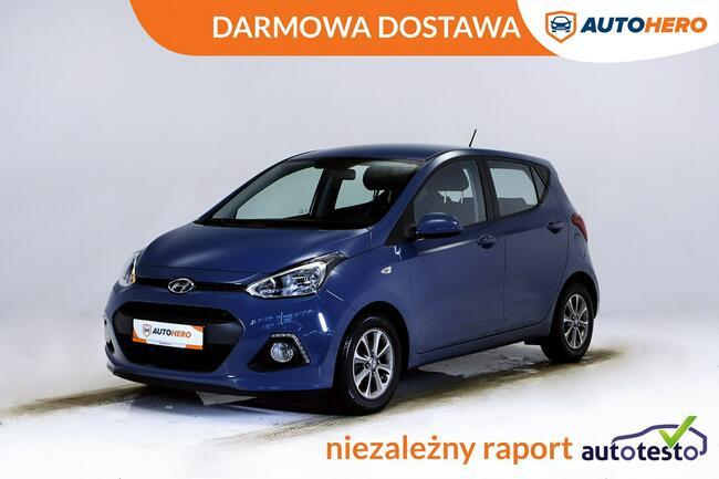 Hyundai i10 DARMOWA DOSTAWA, Hist Serwis, Grzane fotele, LED, Klima, Warszawa - zdjęcie 1