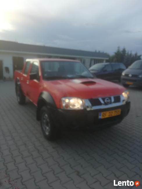 Nissan Navara D22 2.5DI 4X4 Podw.kabina Ostrów Wielkopolski - zdjęcie 1