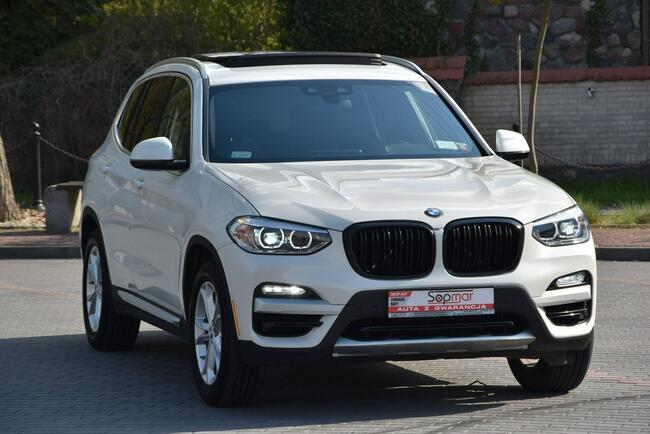 BMW X3 SDrive30i 252KM 2018r. X-line Kamera 3xklima NAVi Panorama Kampinos - zdjęcie 8