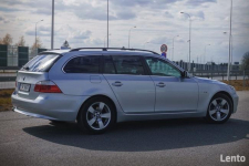 BMW E61 530XD LCI Polift Skóra DVD 4x4 BIXENON Duża navi Led Świdnik - zdjęcie 2