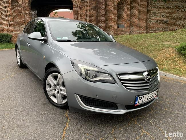 Opel Insignia Lift Sedan Duża navi Super stan Gostyń - zdjęcie 1