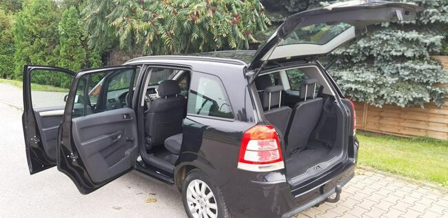 Opel Zafira Piękna Benzynka idealna do gazu 7 Miejsc LIFT Lublin - zdjęcie 8