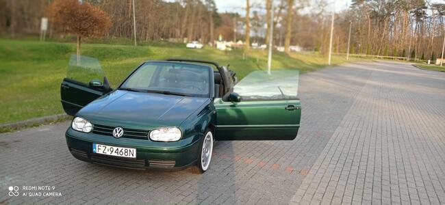 Volkswagen Golf 4 Cabrio 1,6 benzyna Zielona Góra - zdjęcie 1
