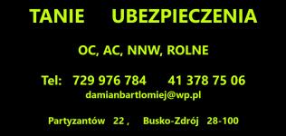 TANIE UBEZPIECZENIA Busko-Zdrój - zdjęcie 1