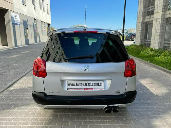 Peugeot 207 SW GTI 1.6T Manual Klima Skóra PDC Lublin - zdjęcie 6
