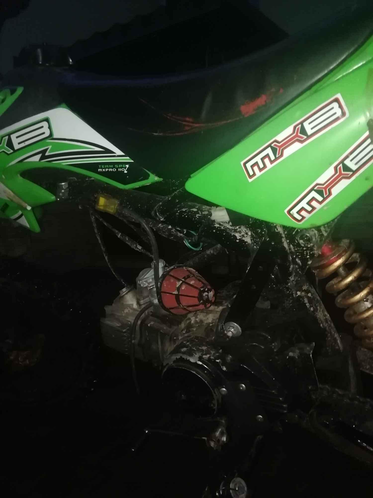 Cross pitbike110cm3 powiększona, wzmocniona rama nowe części Rzeszów - zdjęcie 3