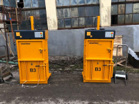 Belownica prasa do foli makulatury kartonu papieru odpadów śmieci Drzewica - zdjęcie 1