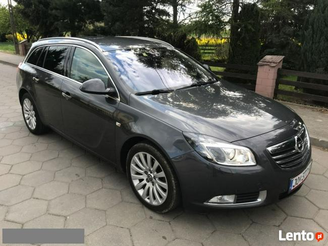 Opel Insignia 2.0Cdti 130Km Xenon Półskóra Serwis Opla Chrom Chodecz - zdjęcie 5