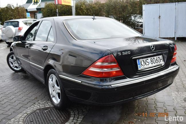 Mercedes W220  320 CDI - SALON POLSKA, KLIMA,XENNON,SKÓRY, NAVI Nowy Sącz - zdjęcie 6