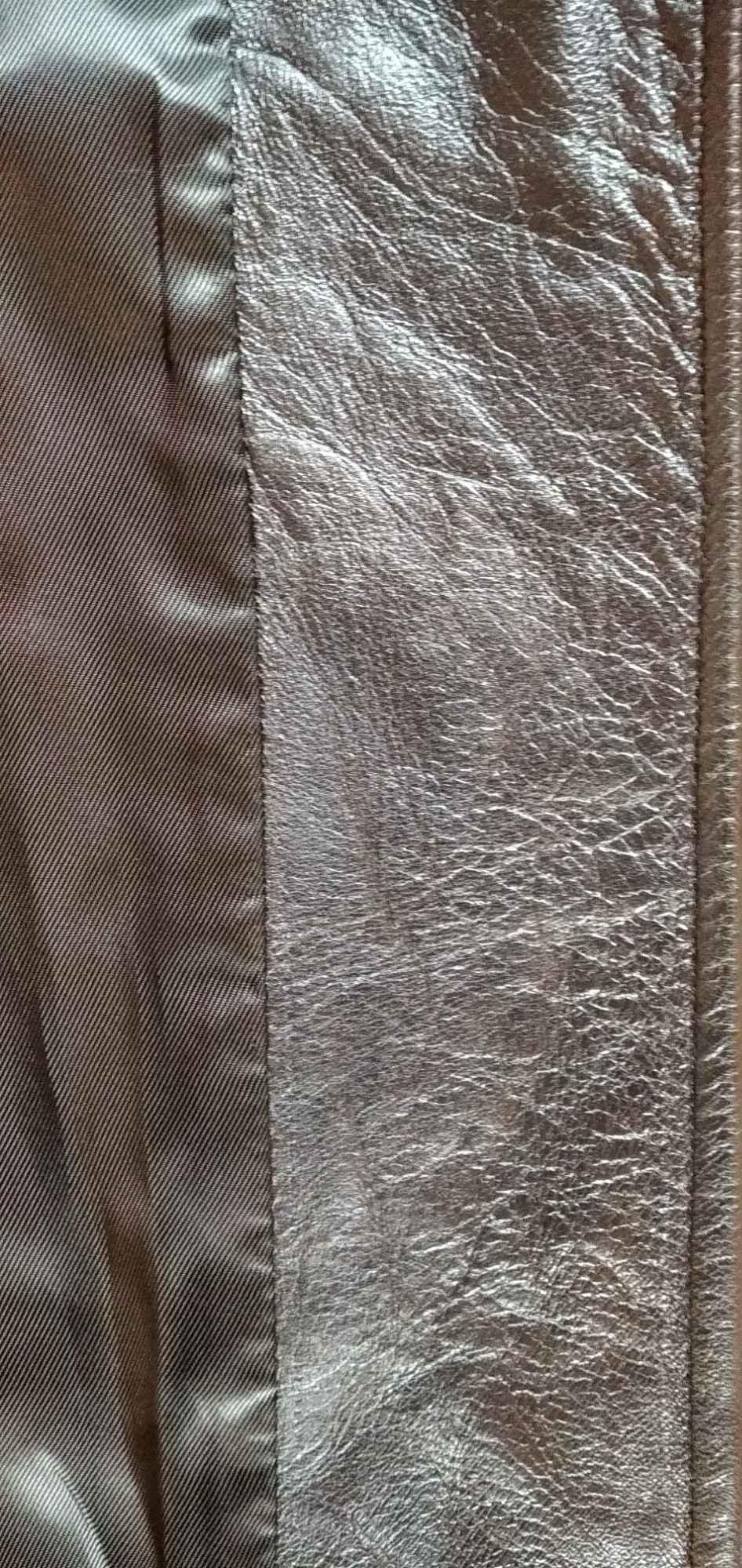 Sprzedam nową ,skórzaną, czarną ,kurtkę damską Gdynia - zdjęcie 4