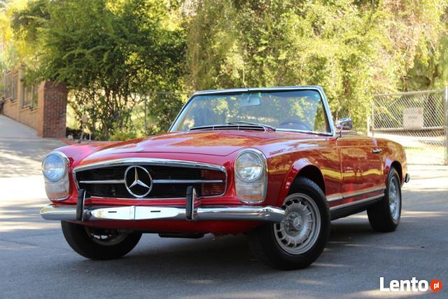 rok 1965 Mercedes-Benz SL230 Pagoda Cabrio Legnica - zdjęcie 1