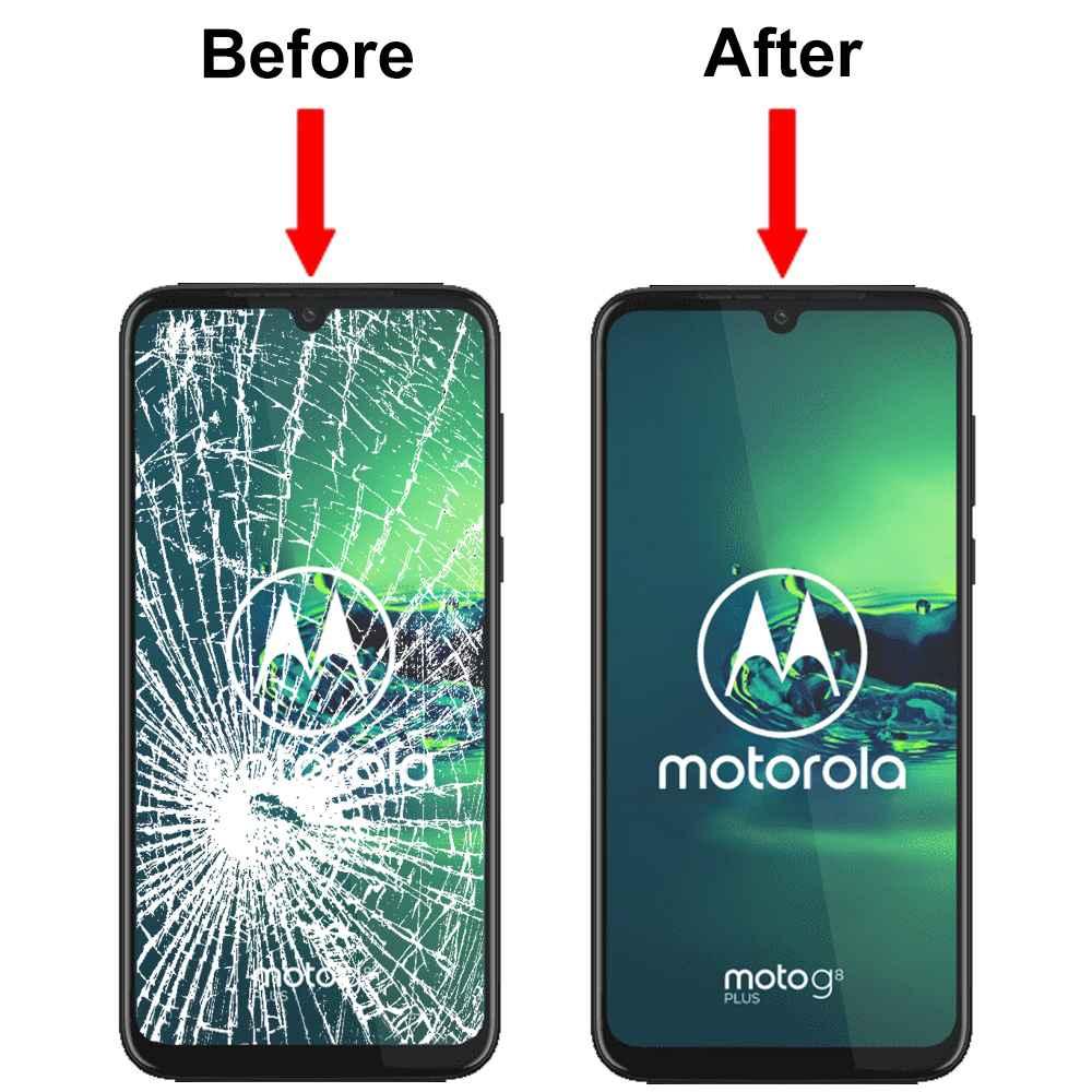 Wymiana szybki ekranu Motorola Moto ONE Moto E7 Targówek - zdjęcie 1