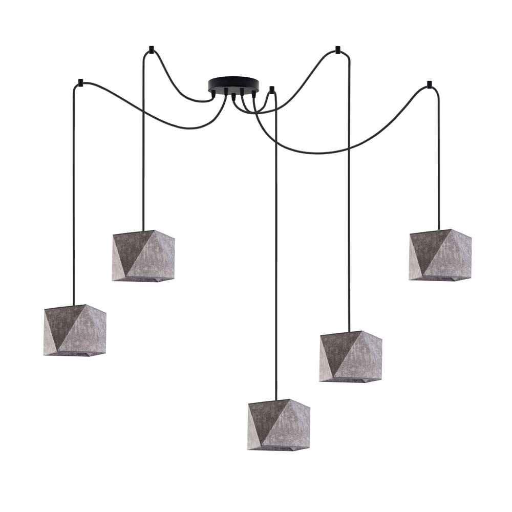 Lampa sufitowa wisząca abażur diament POP! Częstochowa - zdjęcie 5