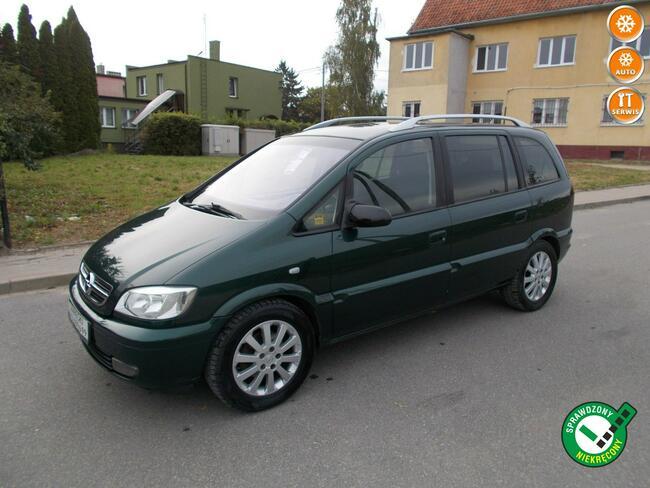 Opel Zafira Opłacona Zdrowa Zadbana Bogato Wyposażona 100 Aut na Placu Kisielice - zdjęcie 1