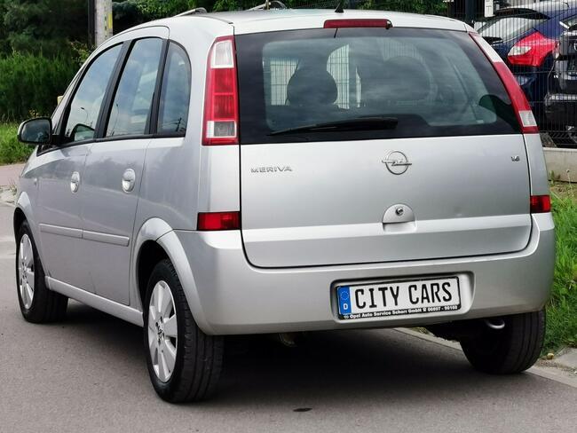 Opel Meriva 1.6 B 100 KM Jedyne 140 tys. km Klimatron z Niemiec Rzeszów - zdjęcie 11