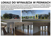 LOKALE DO WYNAJĘCIA W PIONKACH Pionki - zdjęcie 1