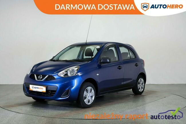 Nissan Micra DARMOWA DOSTAWA, klima, multifunkcja, hist serwis Warszawa - zdjęcie 1