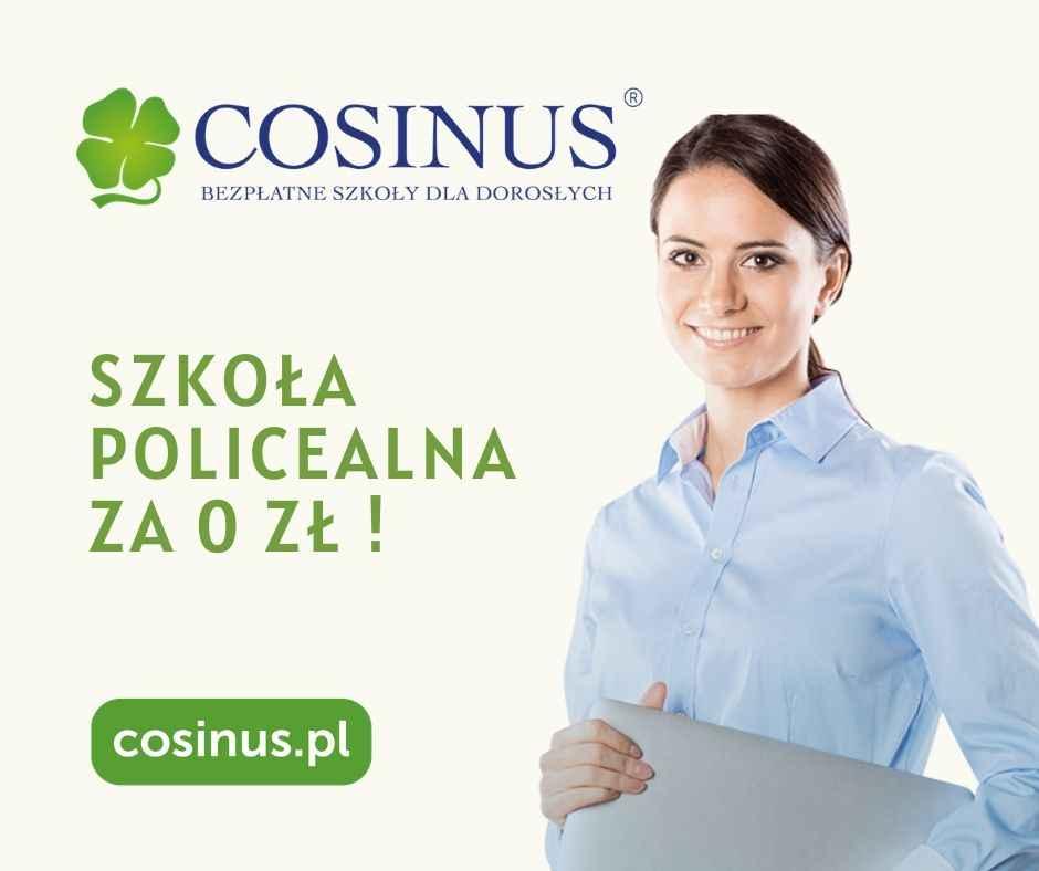 Bezpłatna Szkoła Policealna Cosinus- dołącz do nas! Gniezno - zdjęcie 1