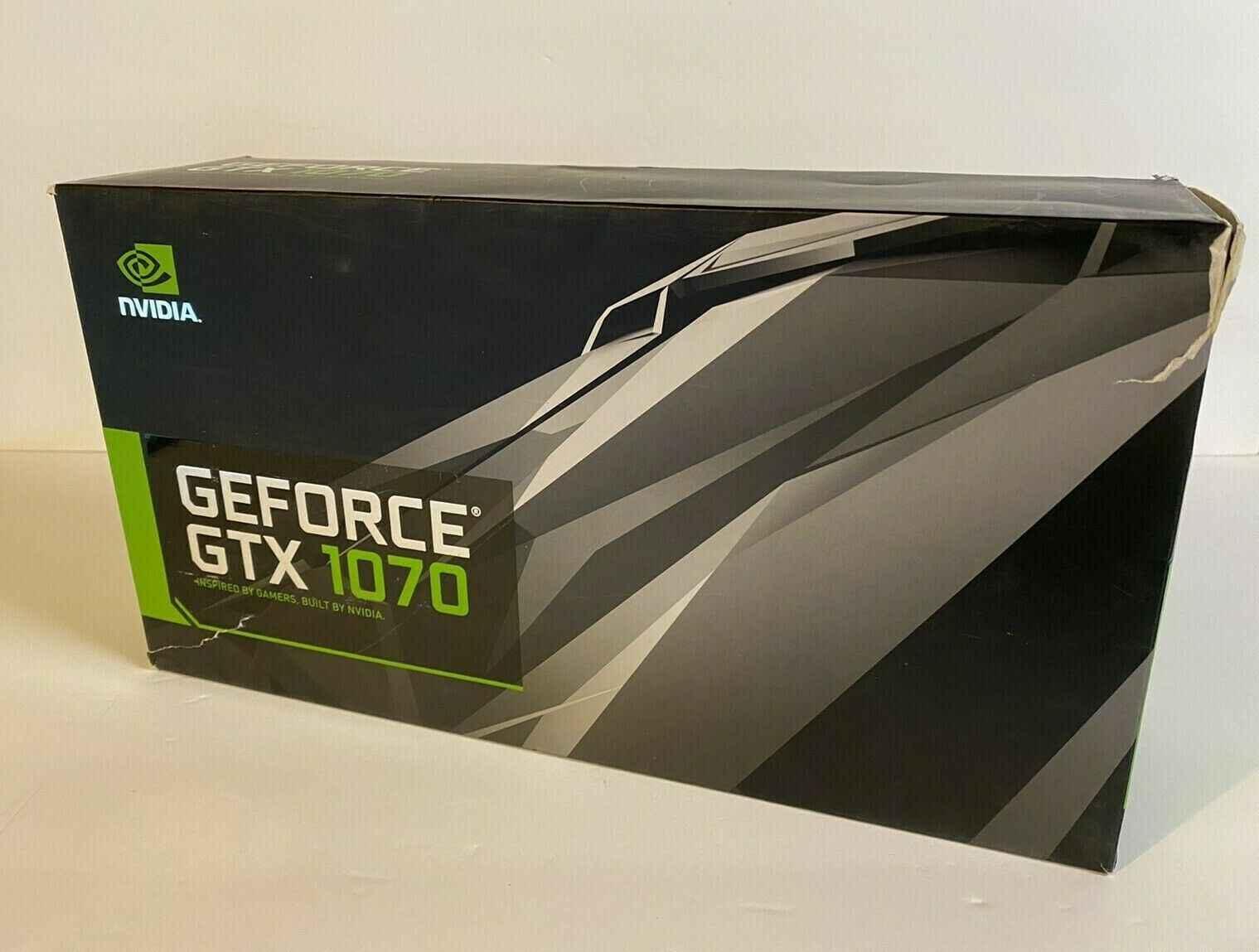 NVIDIA GeForce GTX 1070 Founders Edition 8GB GDDR5 Graphics Card GPU Bemowo - zdjęcie 3