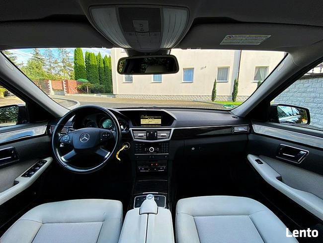 Mercedes E 300 3.0cdi 231km radar navi xenon skóra alu f-1 top Bugaj - zdjęcie 7