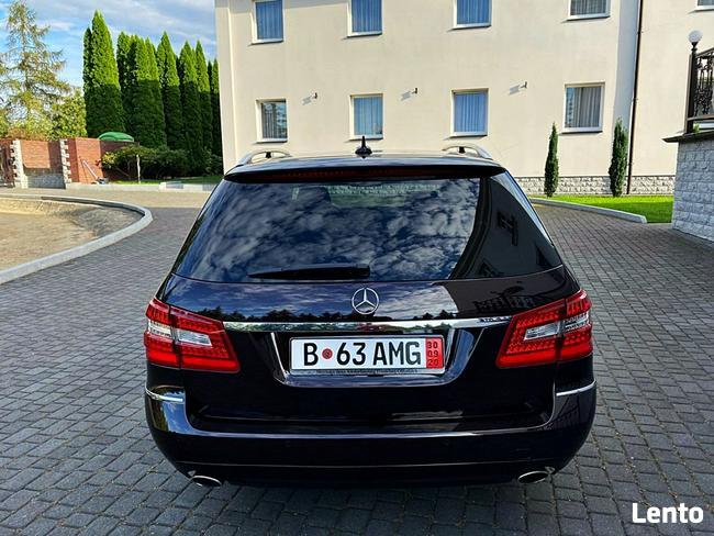 Mercedes E 300 3.0cdi 231km radar navi xenon skóra alu f-1 top Bugaj - zdjęcie 6