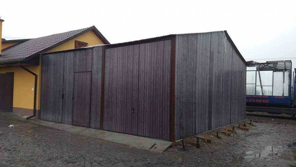Garaże blaszane, blaszaki, schowki budowlane, kojce,wiaty, hale. Szczecin - zdjęcie 9