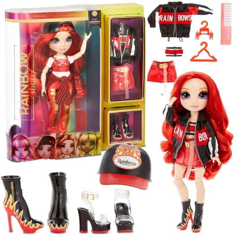 L.O.L Rainbow High Fashion Doll- Ruby Anderson lalka Galiny - zdjęcie 6