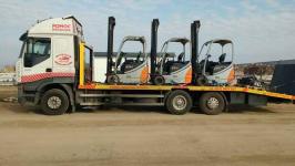 Transport wózków widłowych maszyn koparek Poznań 604 999 084 Grunwald - zdjęcie 3