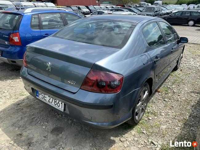 Peugeot 407 Sedan 1,6 HDI Klimatronic Zarejestrowany !!! Gostyń - zdjęcie 6