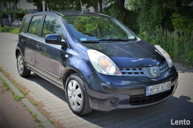 Nissan Note Salon Polska/ Benzyna/ Faktura/Tanio/ Okazja Warszawa - zdjęcie 1