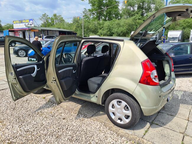 2009 Dacia Sandero 1.6 Benzyna 90 PS 73 tyś KM Nowy Sącz - zdjęcie 3