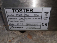 Witryna YG-05040+Toster Stalgast 779161+Pakowarka Hendi 970461 Praga-Południe - zdjęcie 5