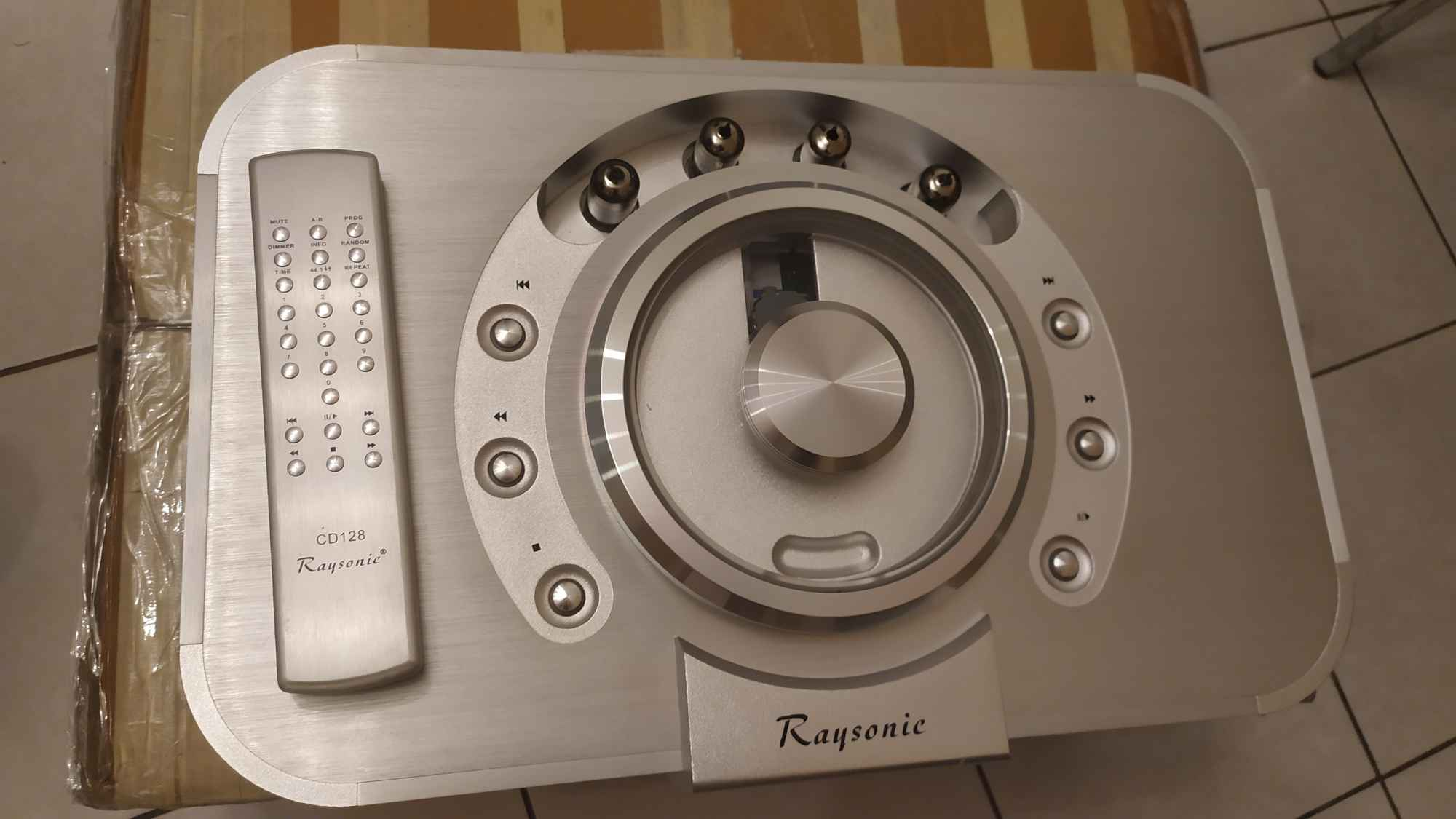 Raysonic cd128. Absolutny rarytas na rynku wtórnym. Lampowy. Kazimierza Wielka - zdjęcie 7
