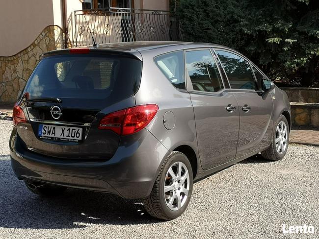 Opel Meriva 1.4T 2011r, Bogata Opcja, Przebieg 120tys, Półskóra, Chrom Radom - zdjęcie 3