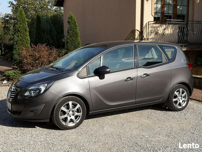 Opel Meriva 1.4T 2011r, Bogata Opcja, Przebieg 120tys, Półskóra, Chrom Radom - zdjęcie 2