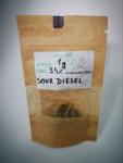Susz Konopny CBD Sour Diesel CBD 4% 1g HURT Drezdenko - zdjęcie 2