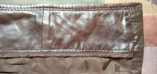 Sprzedam nowy ,skórzany, brązowy płaszcz damski Gdynia - zdjęcie 4