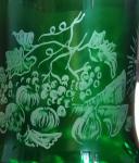 kielich kryształowy paschalny kiduszowy Krzyki - zdjęcie 3