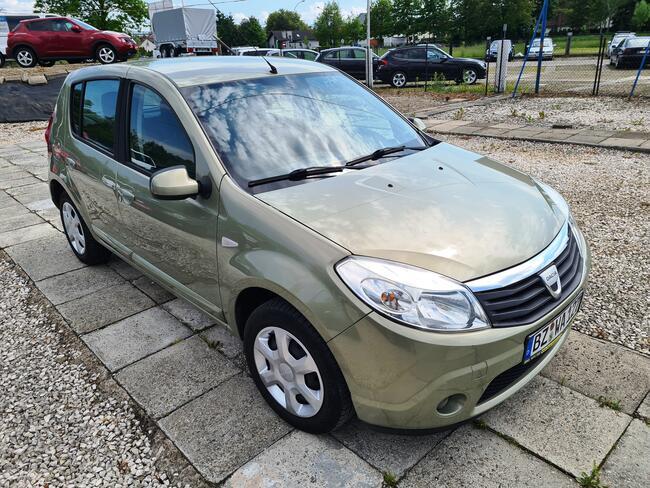 2009 Dacia Sandero 1.6 Benzyna 90 PS 73 tyś KM Nowy Sącz - zdjęcie 1