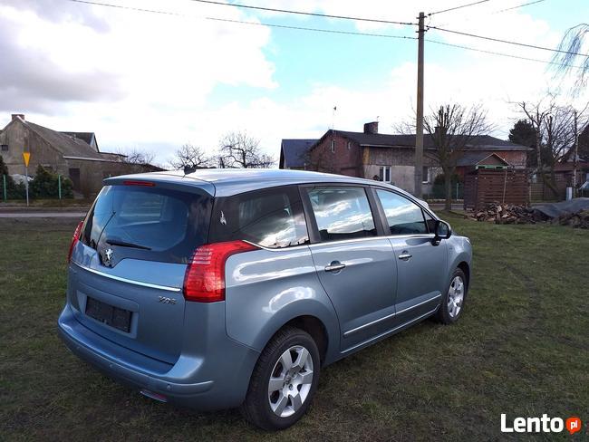 Peugeot 5008 1.6 HDI 110KM 2010r 152 tyś Chojnice - zdjęcie 4