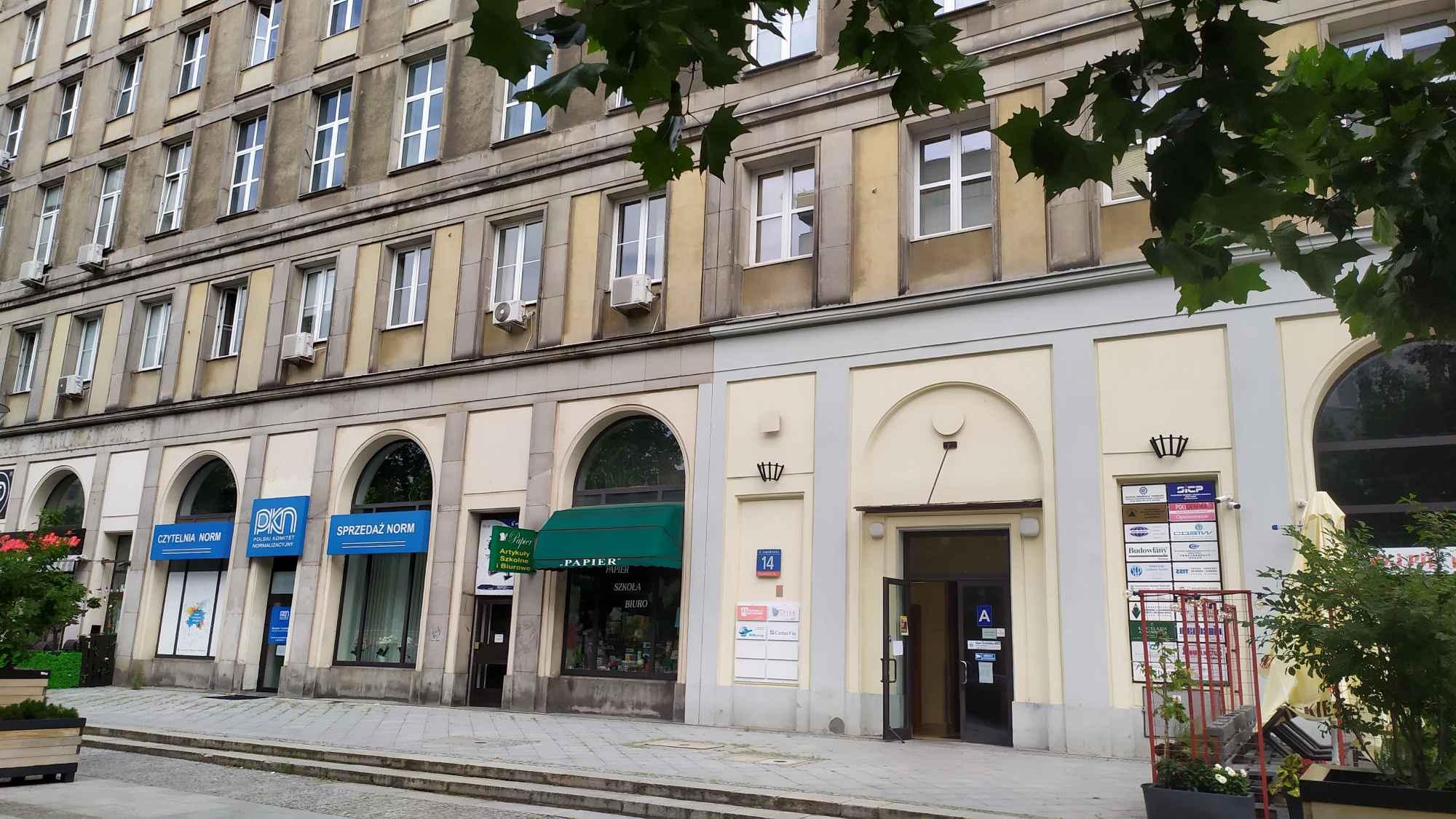Lokal biurowy do wynajęcia - ul. Świętokrzyska 14, Warszawa Śródmieście - zdjęcie 1