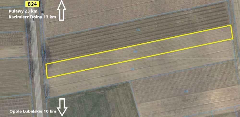 Działki na sprzedaż Karczmiska Pierwsze (Kazimierz Dolny 13 km) Karczmiska Pierwsze - zdjęcie 2